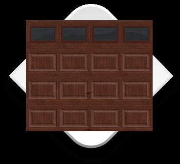 Puerta Americana Tipo Madera